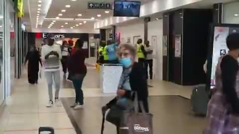 Woman pulls a gun on EFF members during a protest in Port Elizabeth