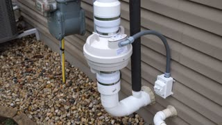 Radon Mitigation System, parts needed and installation - Part 1 of 2