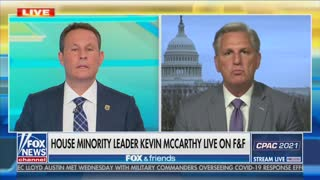 "Kevin McCarthy On ""Fox & Friends"""