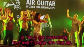 Air Guitar Championships - Video