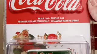 GREENLiGHT Coca-Cola chase car!!!