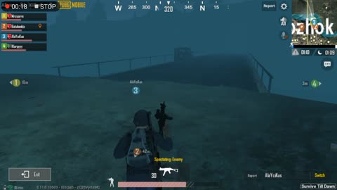 Night Mode In Zombie Pubg Mobile Game