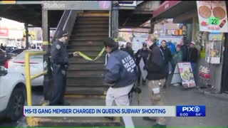 MS-13 gang member charged in deadly Queens subway platform shooting