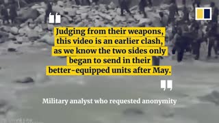 New video shows clash between Indian and Chinese troops on border