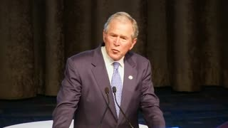 Bush named 'Father of the Year' - Video