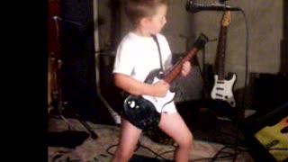 5 Year Old Singing Dirty Deeds by ACDC  - Video