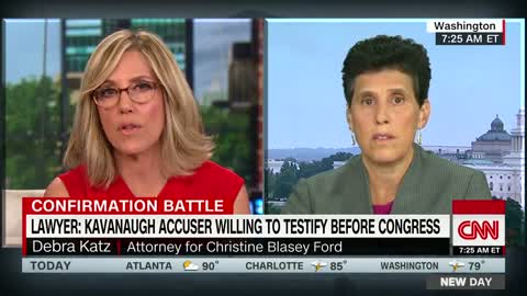 Lawyer: Burden of proof doesn't rest with Kavanaugh accuser