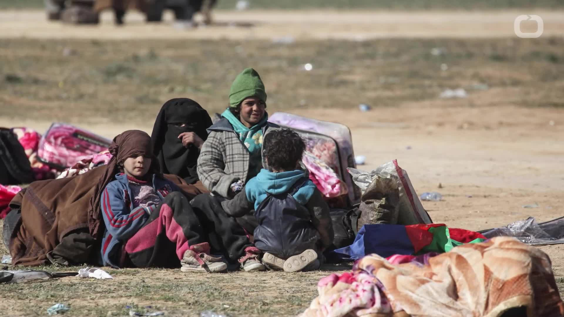 Sources Say Evacuation Of Last Civilians From Syrian Islamic State Enclave Underway
