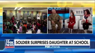 WATCH: Dad Returns From Deployment In Kuwait to Surprise Daughter at School - Video