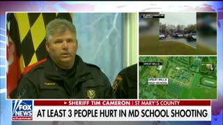 School Resource Officer Takes Action to Stop Maryland Shooter, Ending Potential Rampage 2 - Video