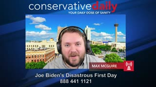 Biden's Disastrous First Day in Office