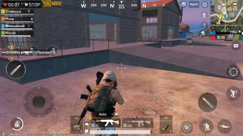 Team Clearing Georgepool With Good Weapons In Pubg Game