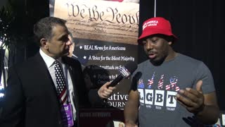 MAGA Rapper Bryson Gray Shares Why He's Proud to be a Black, Conservative Trump Supporter