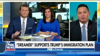 'Dreamer' Shreds the Narrative, Praises Trump, and Tells Schumer and Pelosi to Stop - Video