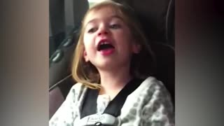 Girl Drives Brother To Tears With Terrible Singing - Video