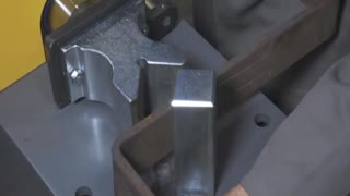 Electrically Driven Hydraulically Operated Steel Bender - Video