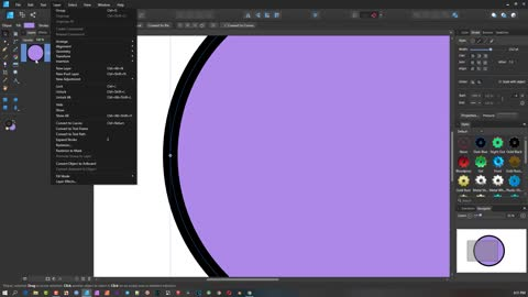 Affinity Designer Basics - Part 4 - The Layers Menu ( 4 of 6 )