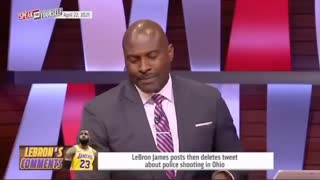 ESPN host fact checks Lebron on air