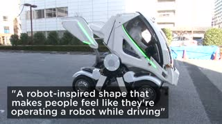 Folding Electric Car - Video
