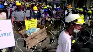 Myanmar security forces kill 18 protesters