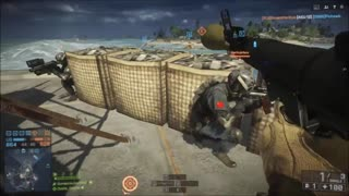 Battlefield 4 - Trolling and Wrecking - Nansha Strike Gameplay - Explosions Center - Video