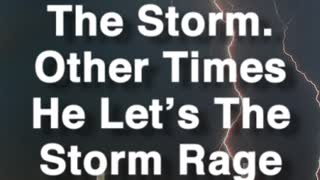 Calms The Storm - Video