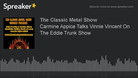 Carmine Appice Talks Vinnie Vincent On The Eddie Trunk Show