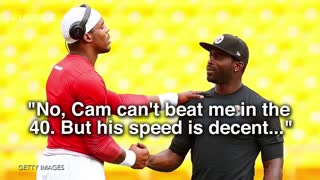 Michael Vick Says He's Still Faster Than Cam Newton - Video