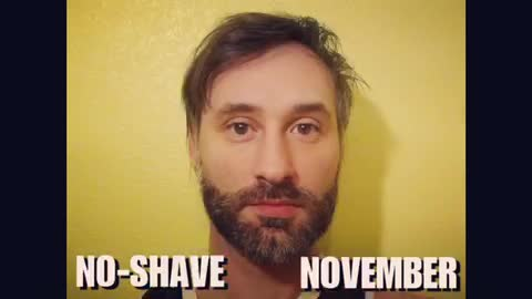 Man documents his 'No-Shave November' with epic time lapse