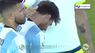 VIDEO: The heartbreaking cry of Lionel Messi after losing the final - Video