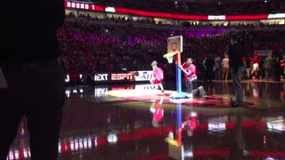 Kids Slam Dunk Contest Chicago Bulls vs Boston Celtics Game 6  - Video