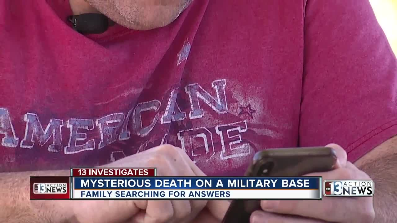 Family searches for answers in mysterious death of Navy medic