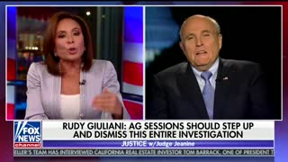 Rudy Giuliani: AG Jeff Sessions should dismiss the entire Mueller investigation. - Video