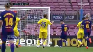 Gol de Messi vs Las Palmas (3-0) - Video