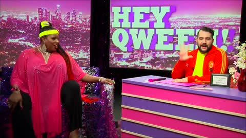 Hey Qween! BONUS: Jonny & Lady Red Love Showgirls at Micky's Weho
