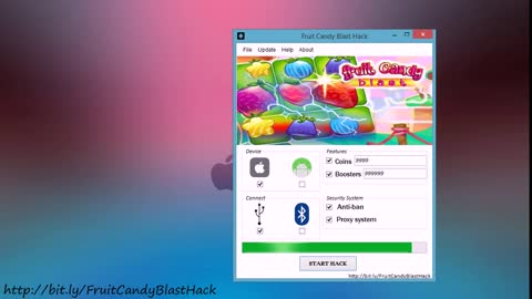 Fruit Candy Blast Hack Tool ( 2016 Top Game Hack ) Unlimited Coins & Boosters )