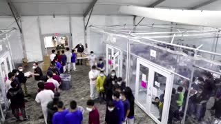 U.S. sees surge in migrant children at the border