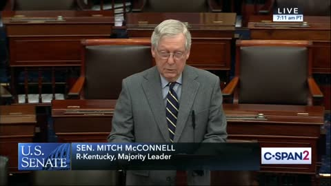 McConnell slams Schumer pt. 1
