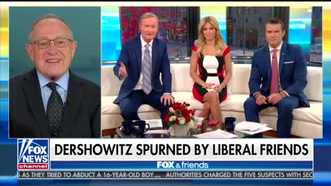Dershowitz Announces 'Trump Diet'  Weight Loss: 'My Liberal Friends Stopped Inviting Me to Dinner Parties'