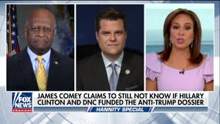 Matt Gaetz and Herman Cain blast Congress for 'micromanaging' and 'obstructing' Trump - Video