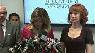 Kathy Griffin News Conference About Picture Of Her Holding The Head - Video