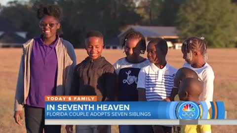 Seven Siblings Living In Three Foster Homes Have Finally Found Their 'Forever Home'