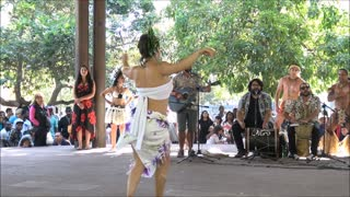 Rapa Nui dance show in Chile