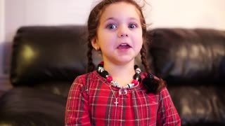 This 5-Year-Old Girl Has An Amazing Vibrato! - Video