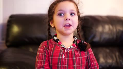 This 5-Year-Old Girl Has An Amazing Vibrato!