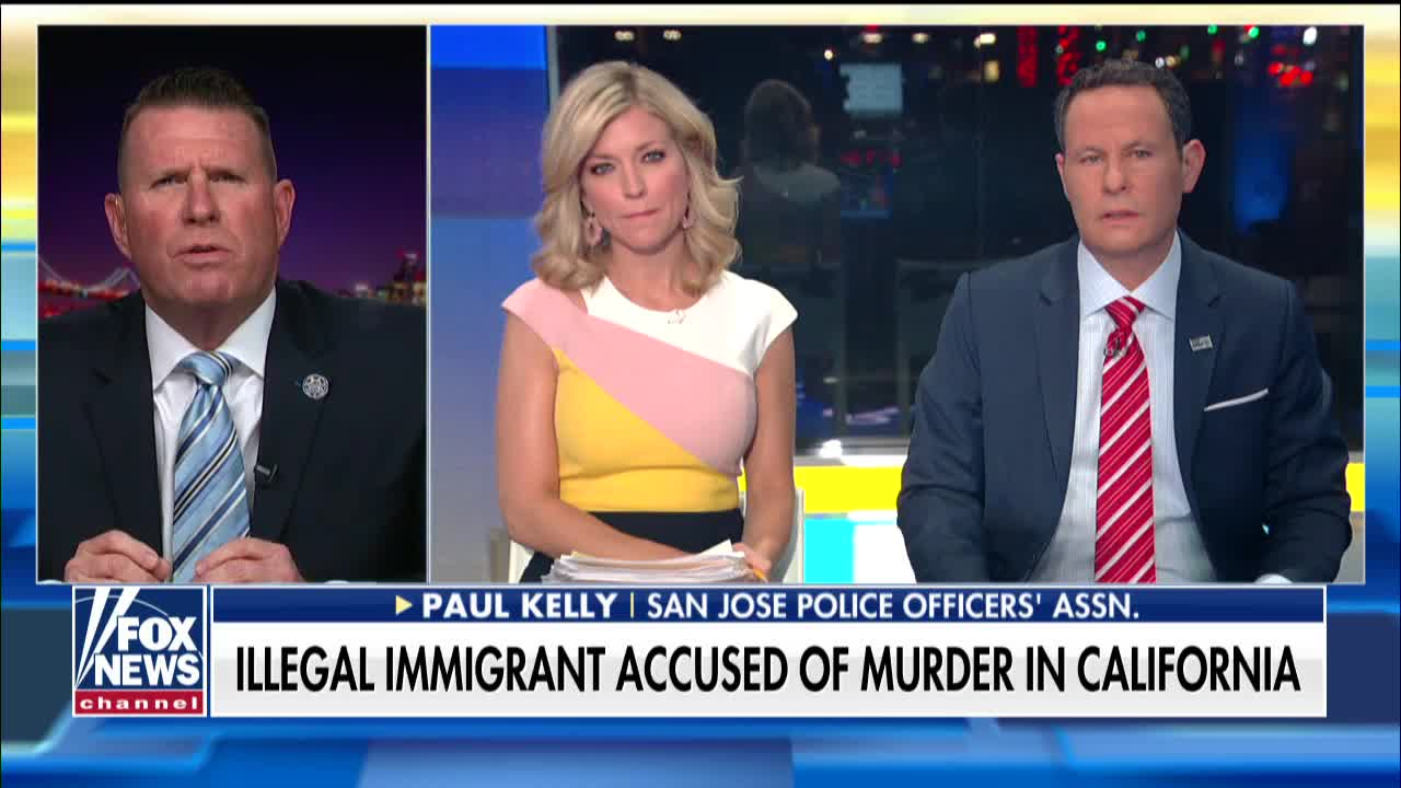 San Jose Police Sgt  Paul Kelly slams sanctuary state policies
