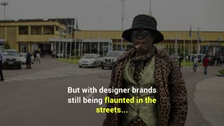 The Men Who Dress in Designer Clothes on a Dollar a Day - Video