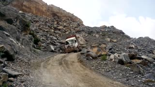 Truck Brakes Fail Causing Accident in Mine