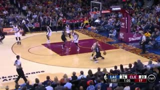 LeBron James Forgets to Play Defense - Video