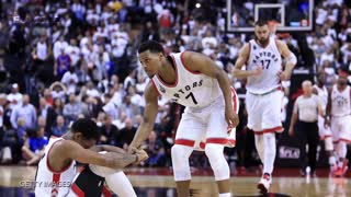 Raptors Fans Leave Air Canada Centre, Miss Kyle Lowry's Game Tying 3 Pointer - Video